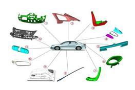 汽车塑料注塑模具加工制造工业设计